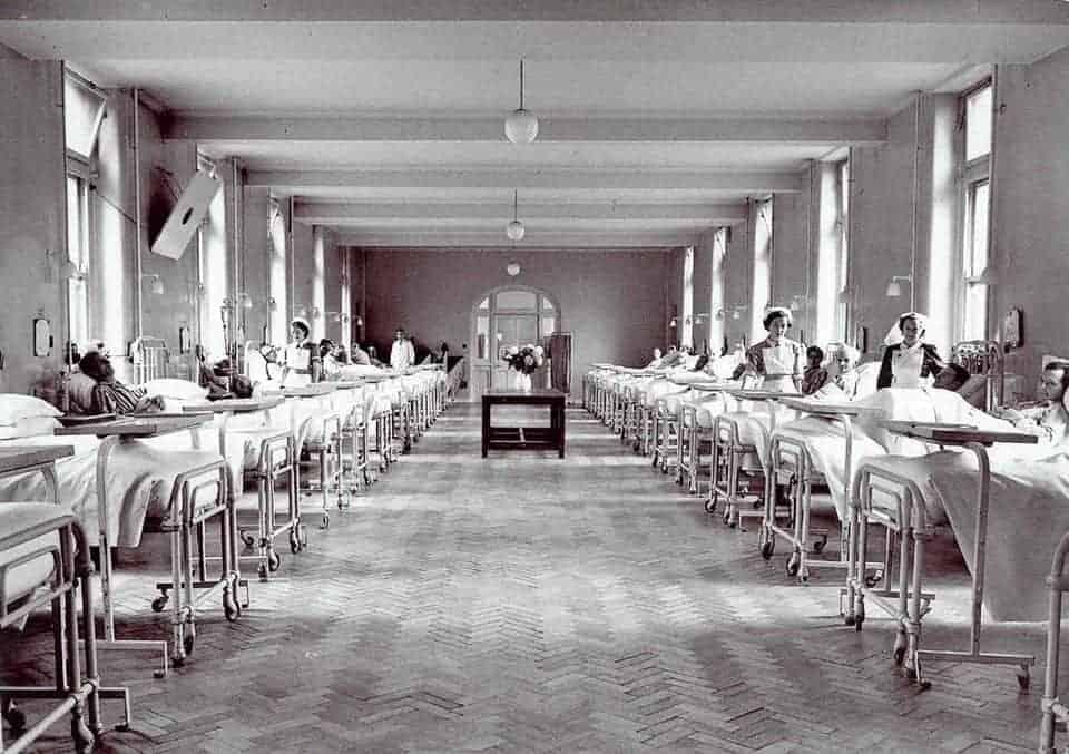 Image: Nottingham Hospitals History.