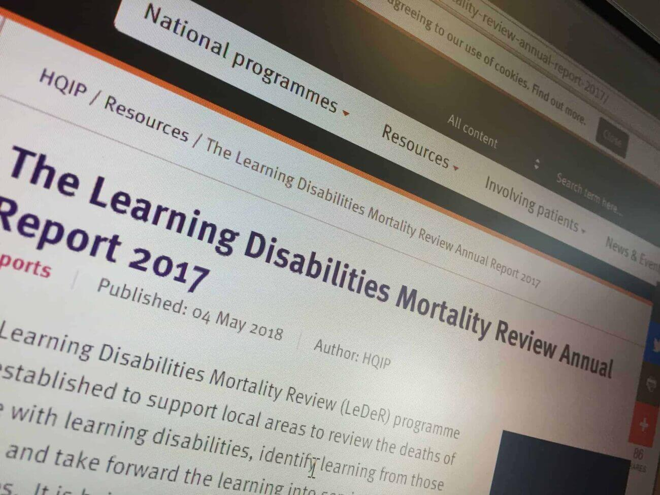 Jeremy Hunt walks out of Learning Disabilities Mortality Review