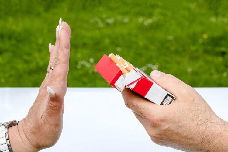ban smoking outside of hospitals