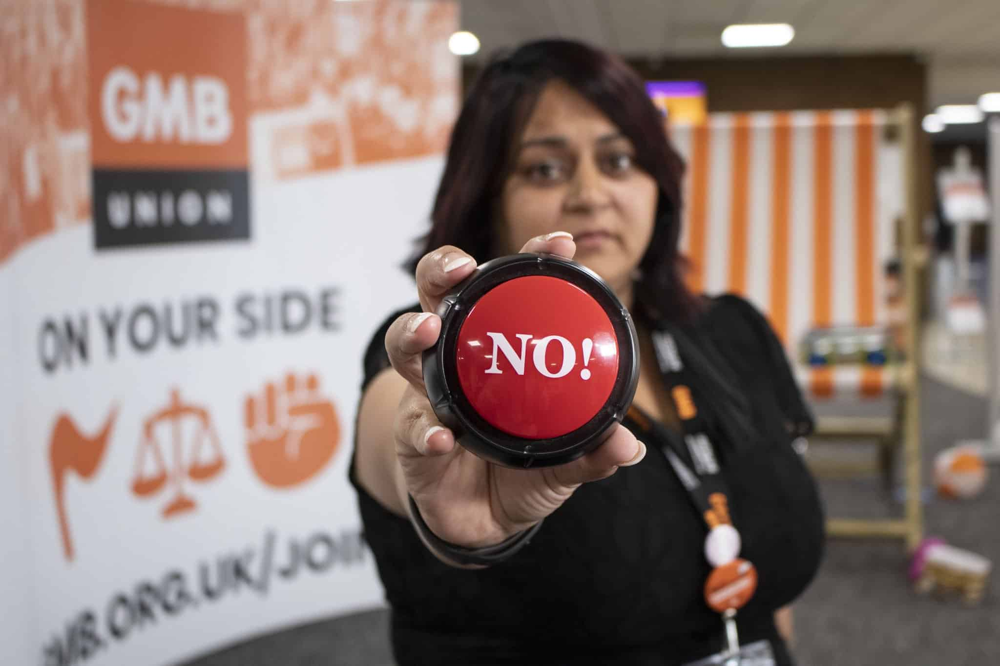 GMB reject pay deal