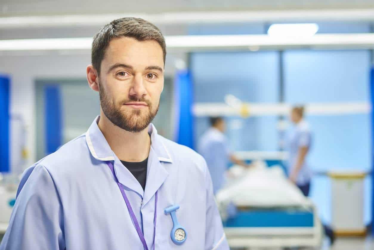 nurse on ward