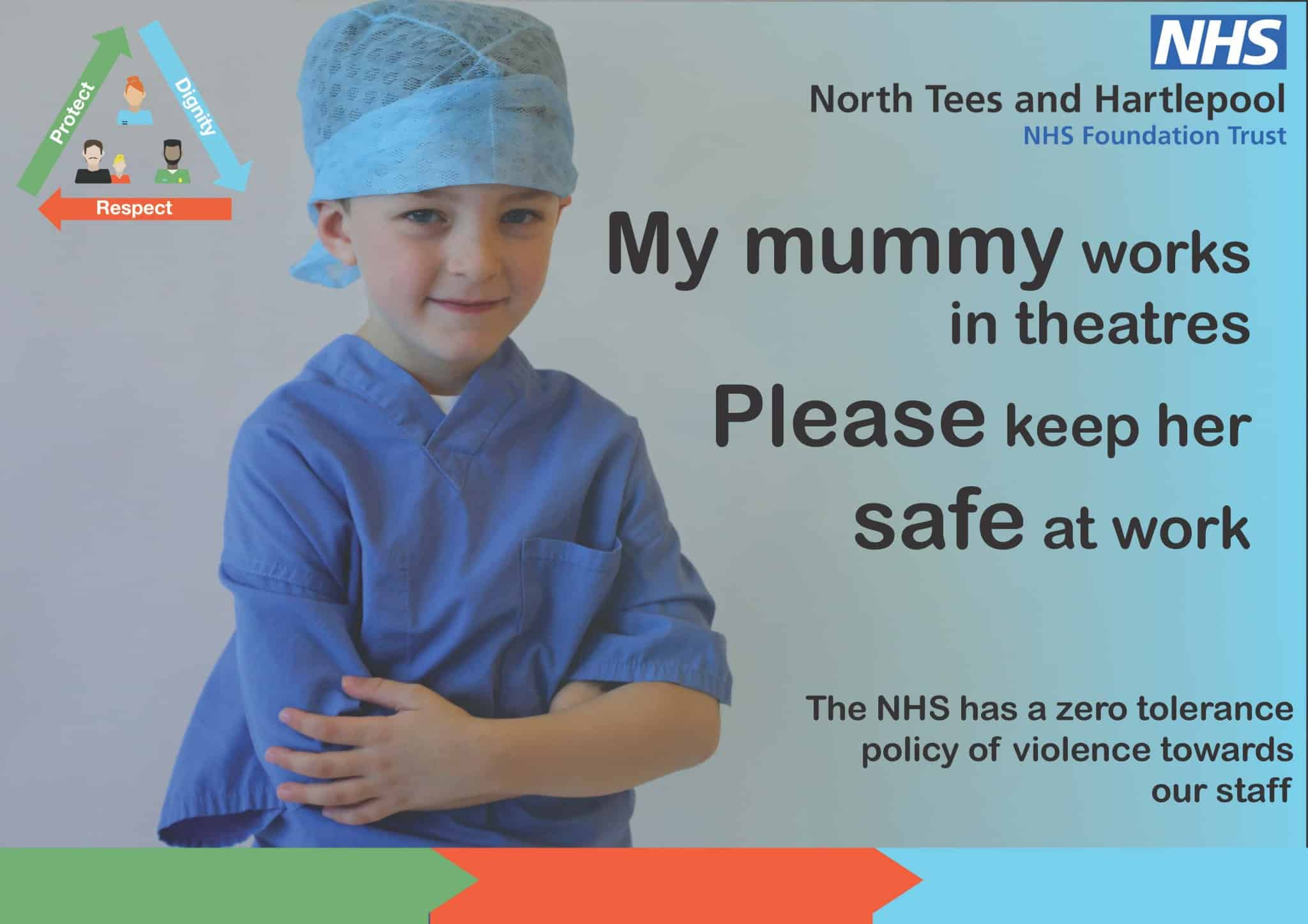 keep mummy safe at work