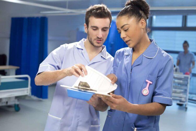 student nurse staff nurse