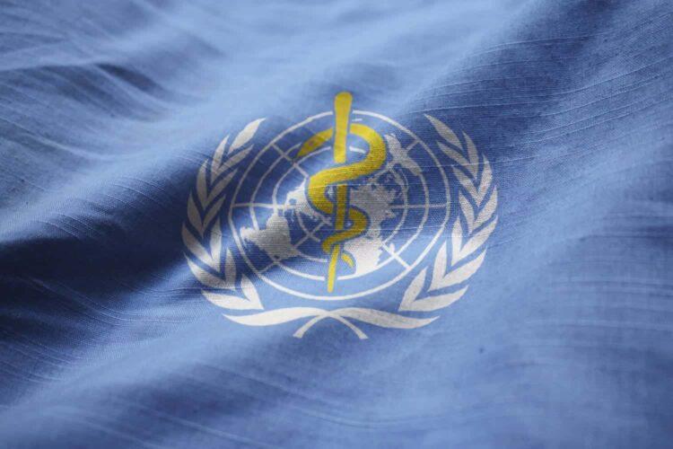 World Health Organization Flag