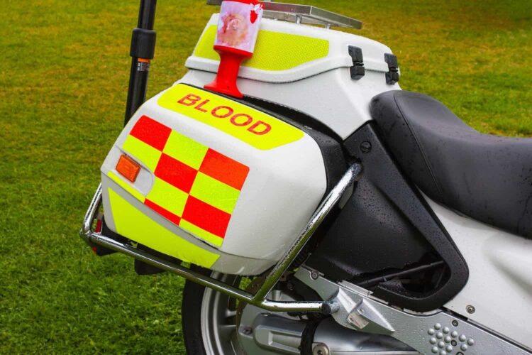 Blood Bike UK NHS