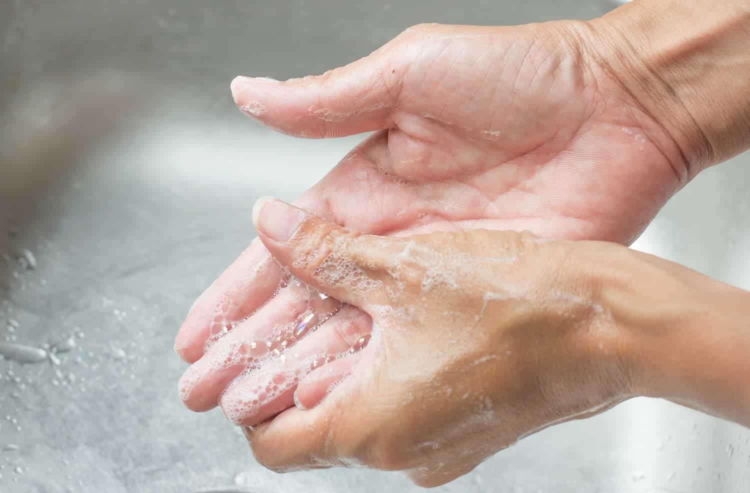 Handwashing patients