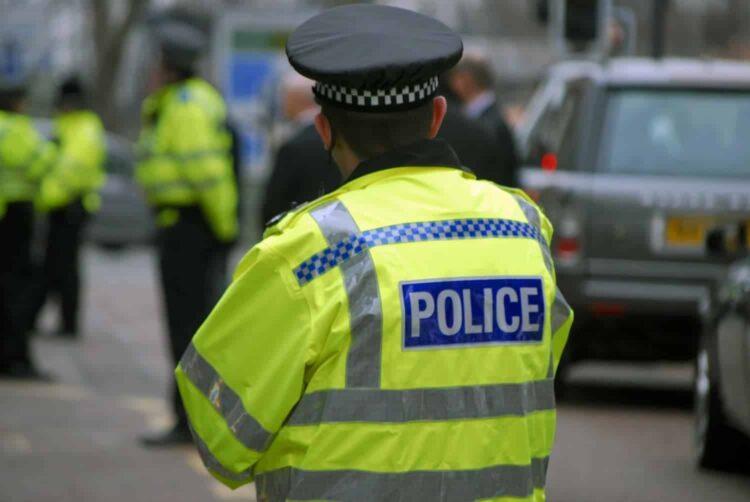 Police arrested UK