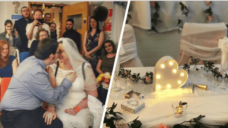 Wedding at Nottingham Hospital