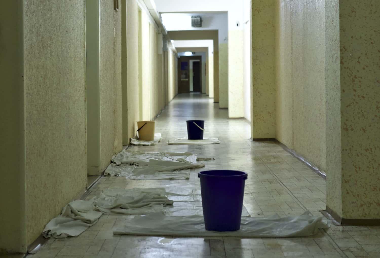 Buckets Hospital Corridor