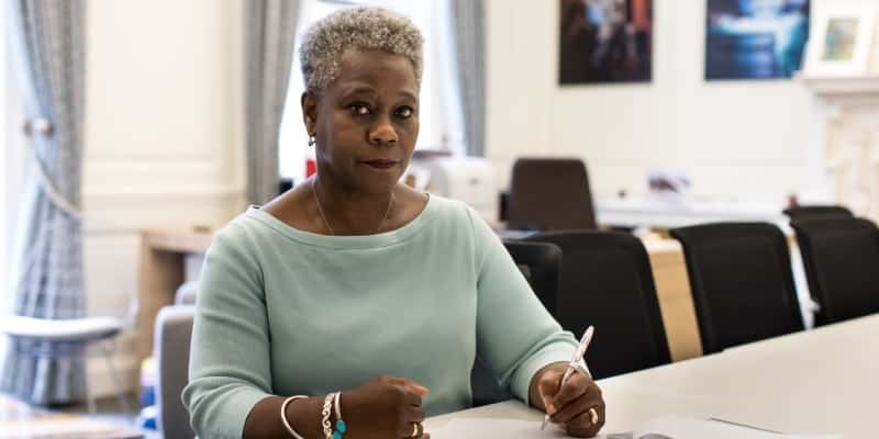 Dame Donna Kinnair Writing Letter