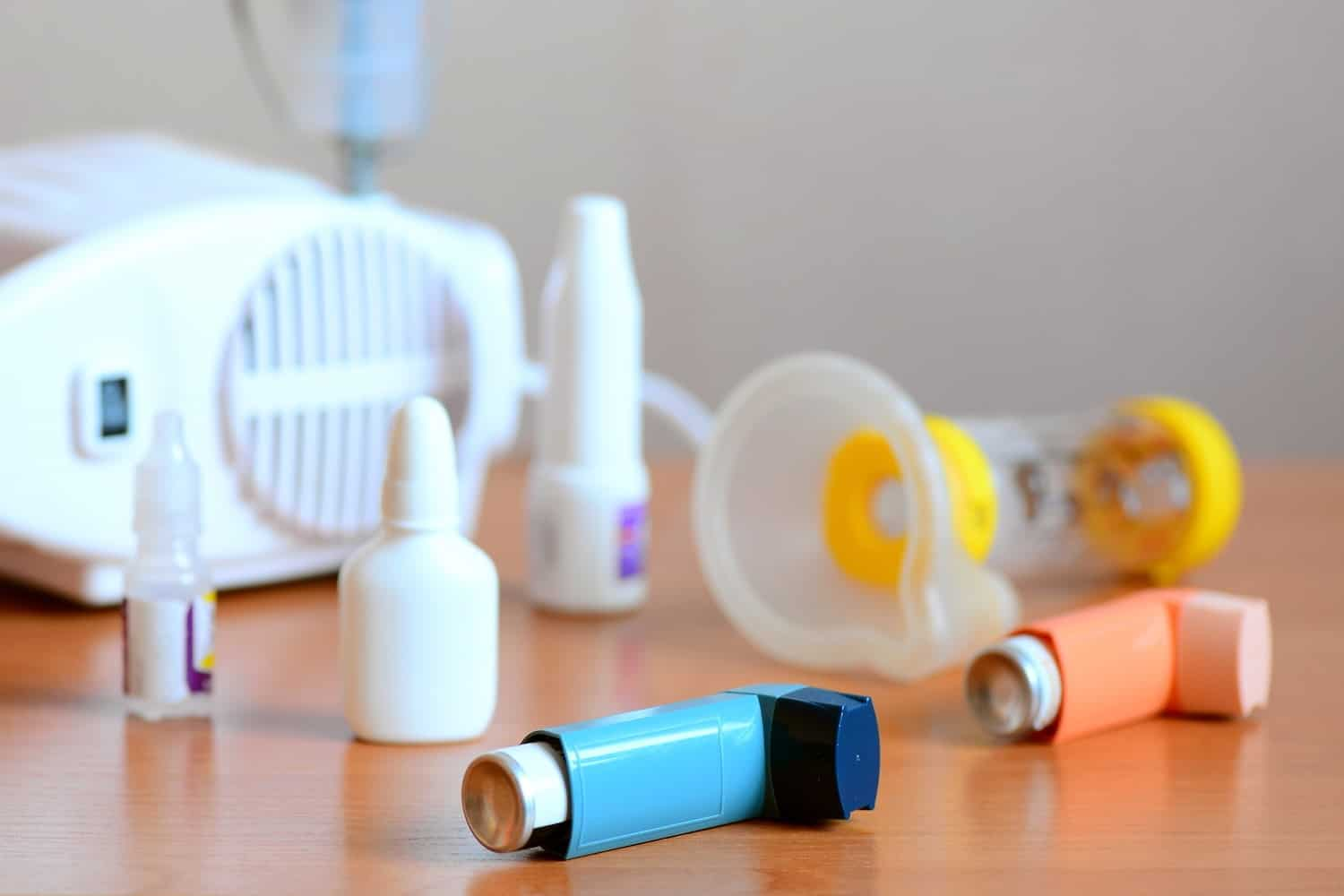 Asthma Medication Inhaler Nebuliser