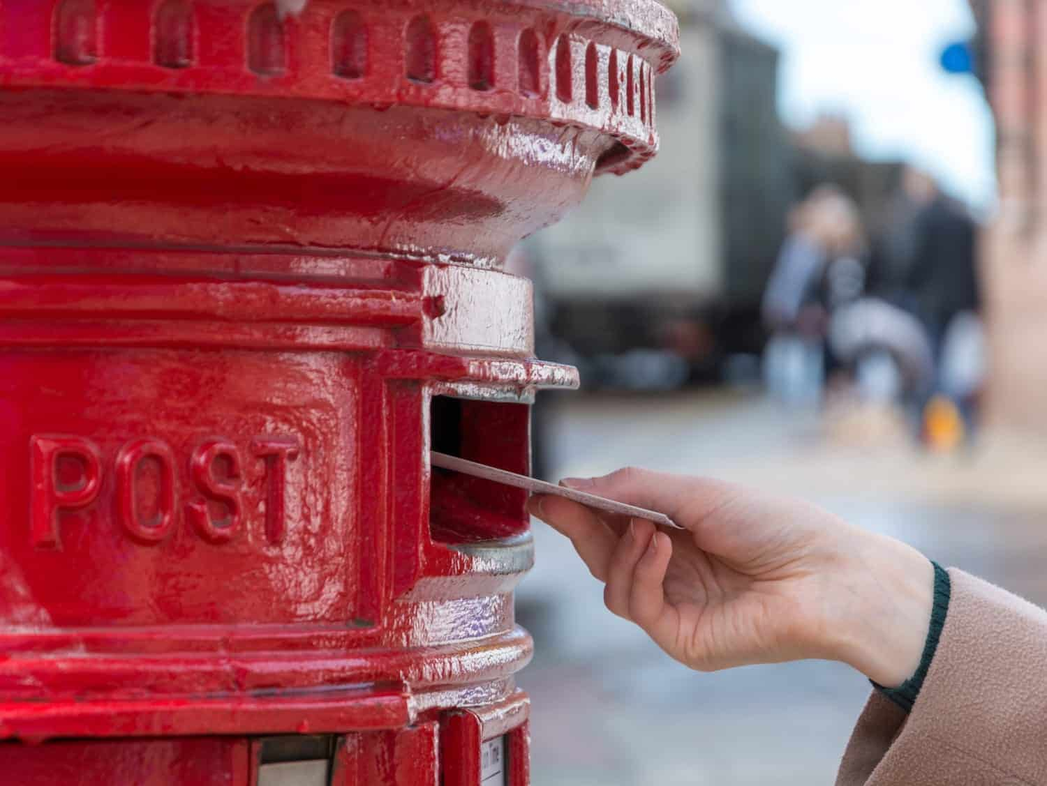 Red Postbox Letter