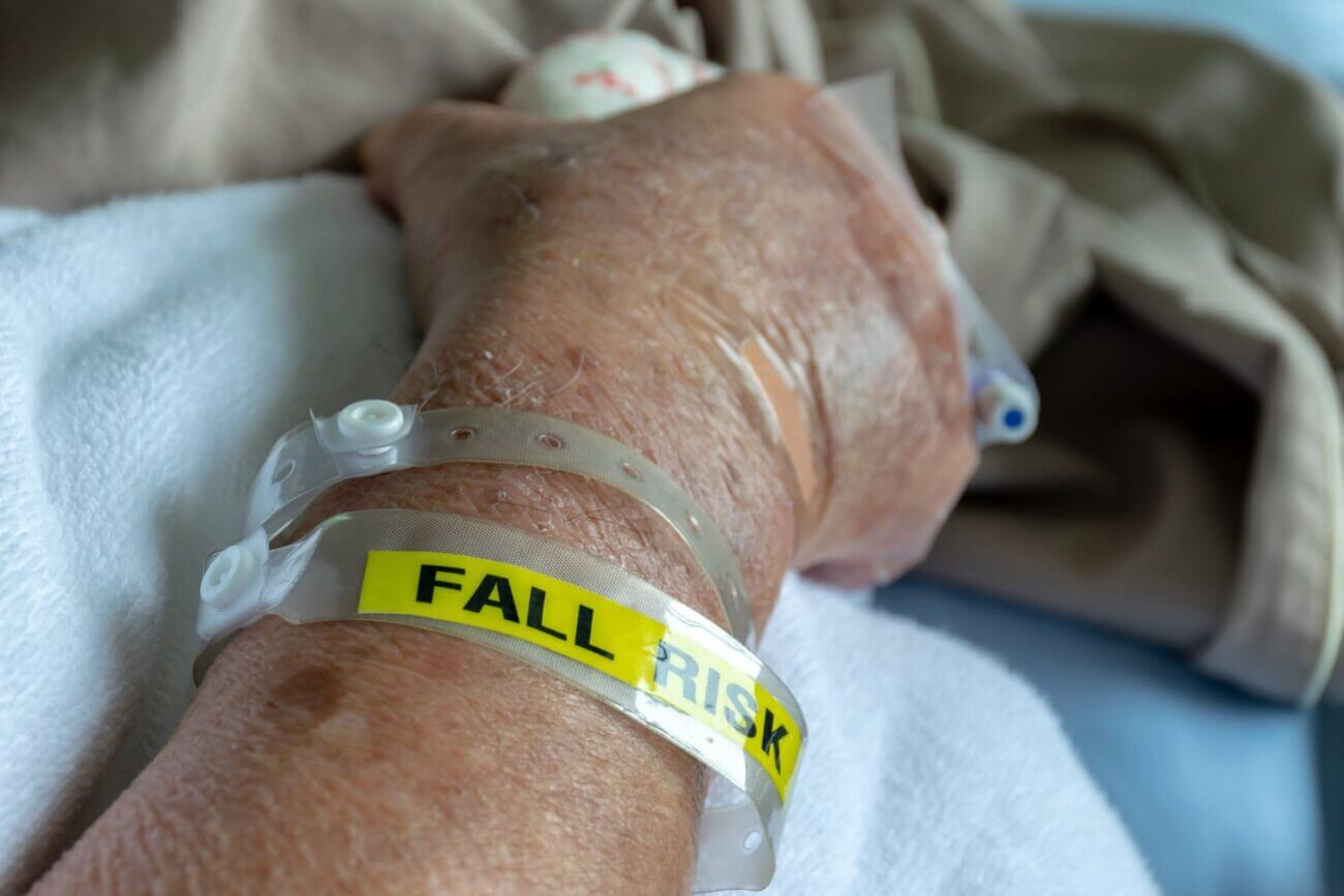 Patient Falls Risk with IV