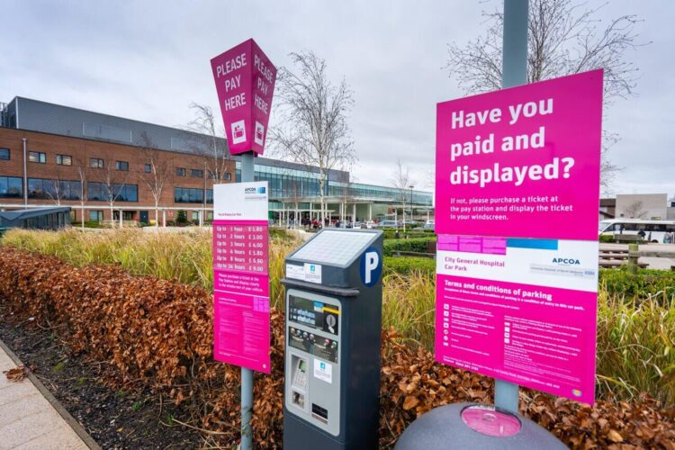 Hospital Parking Charges Liverpool
