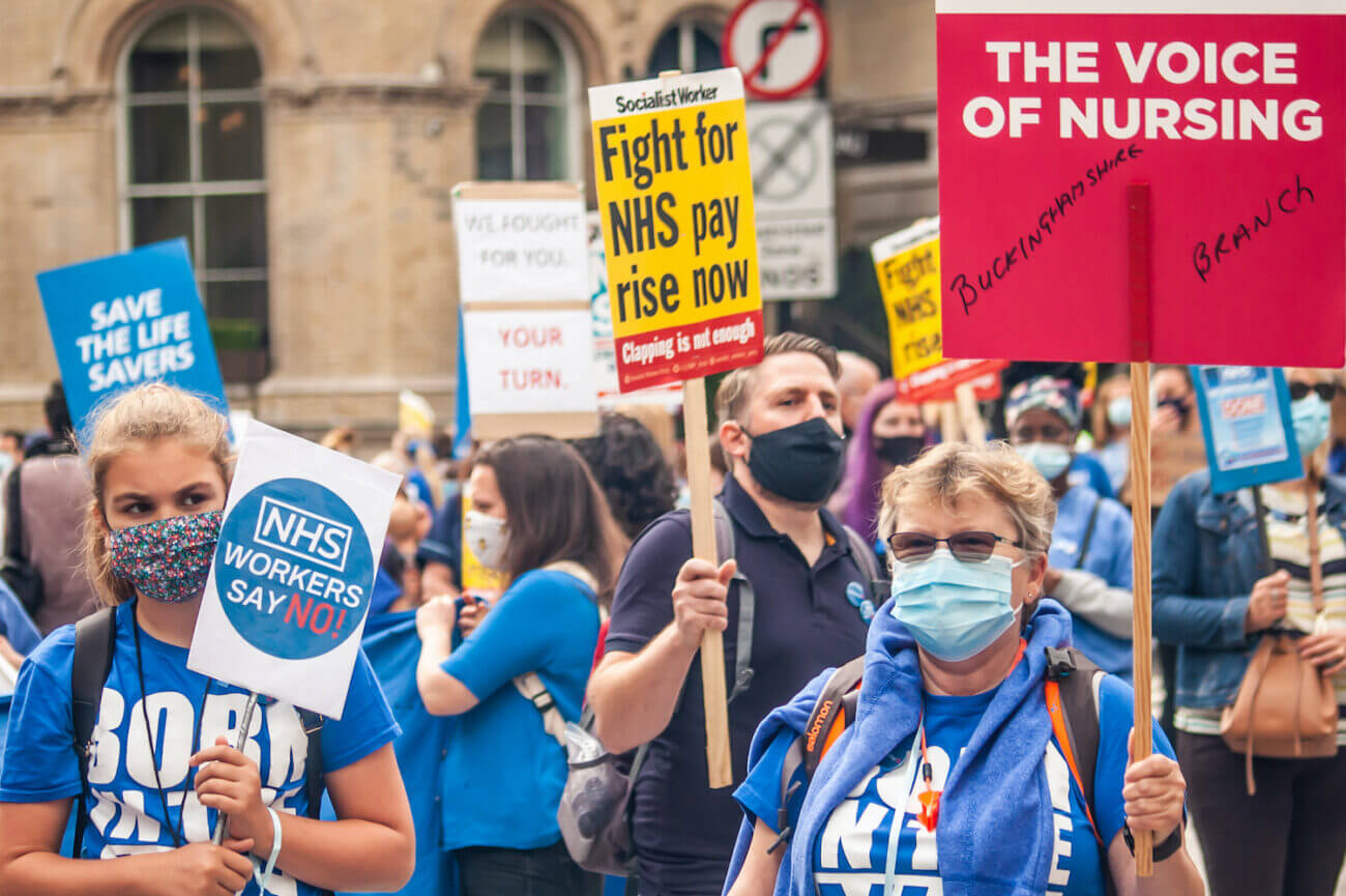 NHS Workers Say No